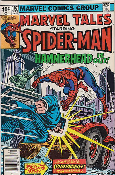 Cover for Marvel Tales (Marvel, 1966 series) #107 [Direct Edition]