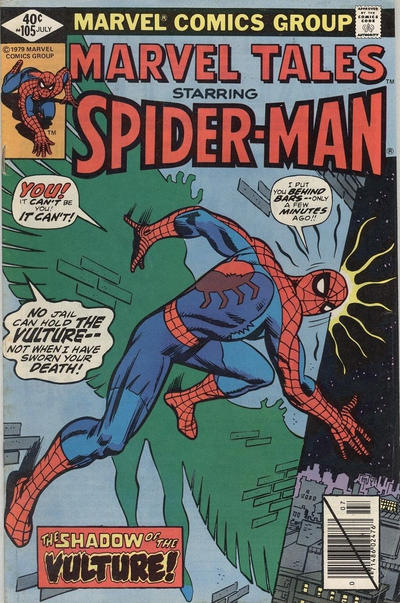 Cover for Marvel Tales (Marvel, 1966 series) #105 [Direct Edition]