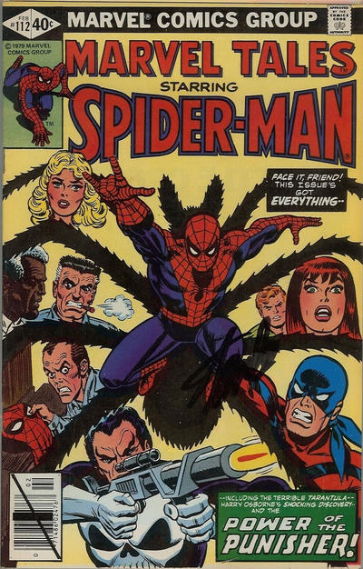 Cover for Marvel Tales (Marvel, 1966 series) #112 [Direct]