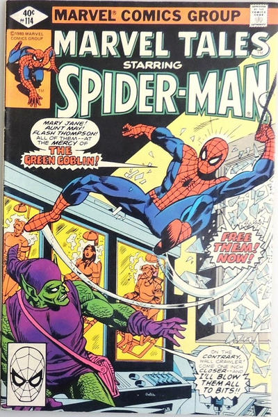 Cover for Marvel Tales (Marvel, 1966 series) #114 [Direct Edition]