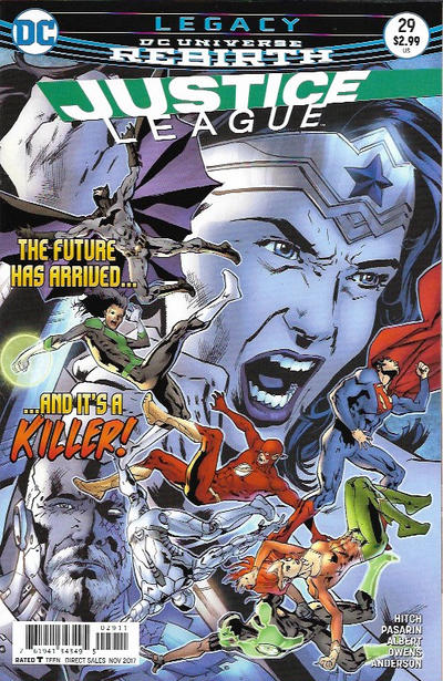 Cover for Justice League (DC, 2016 series) #29
