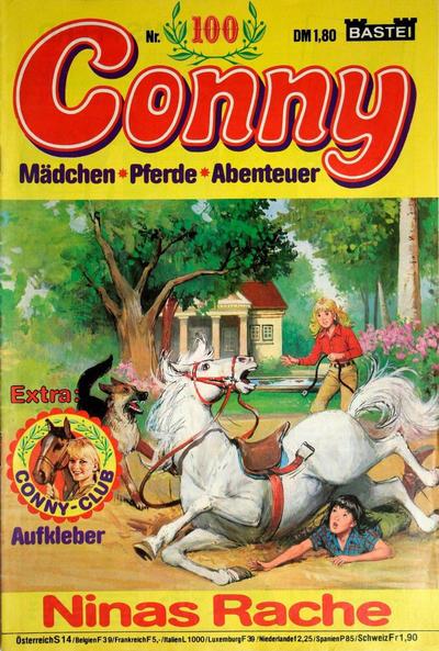 Cover for Conny (Bastei Verlag, 1980 series) #100