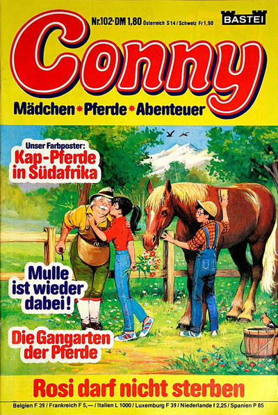 Cover for Conny (Bastei Verlag, 1980 series) #102