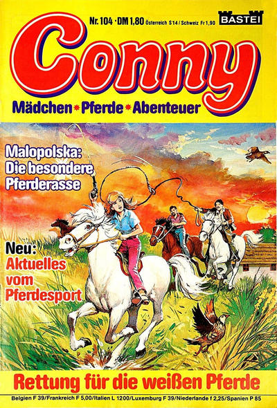 Cover for Conny (Bastei Verlag, 1980 series) #104