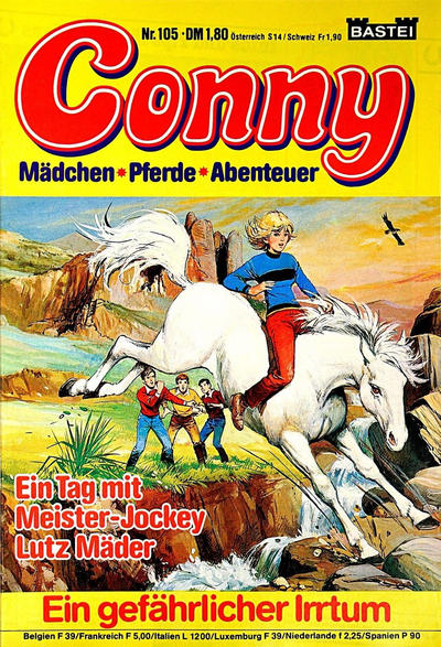 Cover for Conny (Bastei Verlag, 1980 series) #105