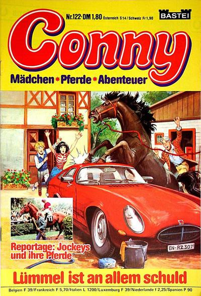 Cover for Conny (Bastei Verlag, 1980 series) #122