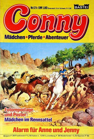 Cover for Conny (Bastei Verlag, 1980 series) #124