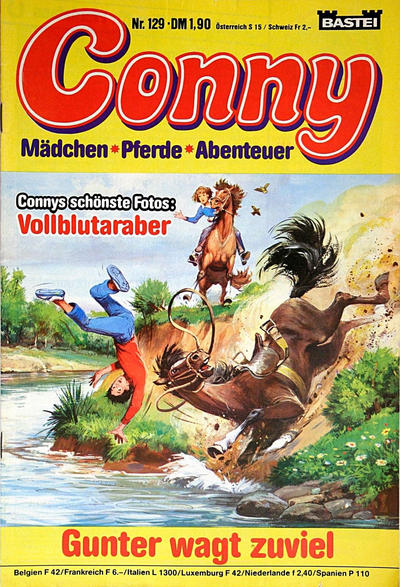 Cover for Conny (Bastei Verlag, 1980 series) #129