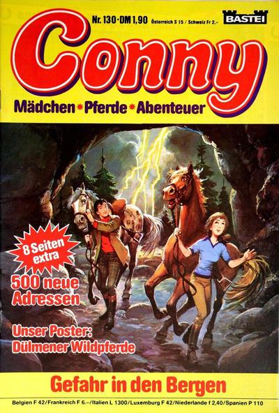 Cover for Conny (Bastei Verlag, 1980 series) #130