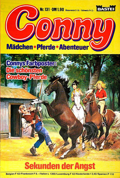 Cover for Conny (Bastei Verlag, 1980 series) #131