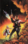 Cover for Astounding Space Thrills: The Comic Book (Image, 2000 series) #1 [Virgin Cover]