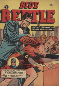 Cover Thumbnail for Blue Beetle (Superior Publishers Limited, 1950 series) #55
