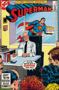 Cover Thumbnail for Superman (DC, 1939 series) #411 [Direct]