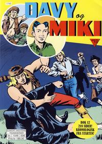 Cover Thumbnail for Davy og Miki (Hjemmet / Egmont, 2014 series) #12