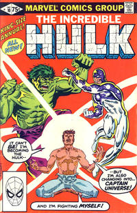 Cover Thumbnail for The Incredible Hulk Annual (Marvel, 1976 series) #10 [Direct]
