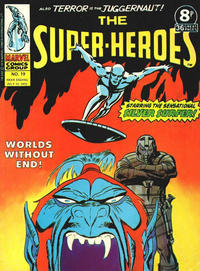Cover Thumbnail for The Super-Heroes (Marvel UK, 1975 series) #19