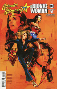 Cover Thumbnail for Wonder Woman '77 Meets the Bionic Woman (Dynamite Entertainment, 2016 series) #6 [Cover A]