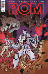 Cover Thumbnail for ROM (IDW, 2016 series) #13 [Cover A]
