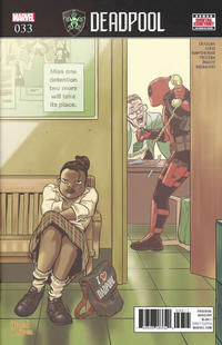 Cover Thumbnail for Deadpool (Marvel, 2016 series) #33 [Direct Edition]
