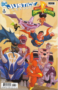 Cover Thumbnail for Justice League / Power Rangers (DC, 2017 series) #6