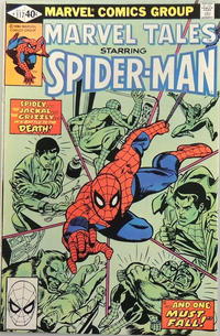 Cover for Marvel Tales (Marvel, 1966 series) #117 [Direct]