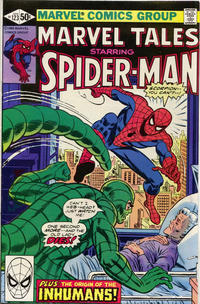 Cover for Marvel Tales (Marvel, 1966 series) #123 [Direct Edition]