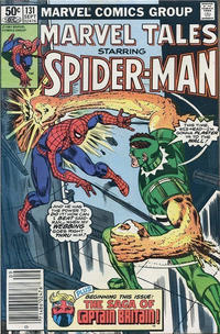 Cover Thumbnail for Marvel Tales (Marvel, 1966 series) #131 [Newsstand Edition]