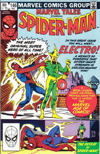Cover Thumbnail for Marvel Tales (Marvel, 1966 series) #146 [Direct]