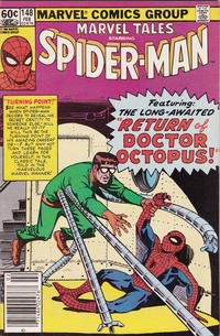 Cover Thumbnail for Marvel Tales (Marvel, 1966 series) #148 [Newsstand Edition]