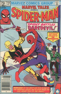 Cover Thumbnail for Marvel Tales (Marvel, 1966 series) #154 [Canadian]