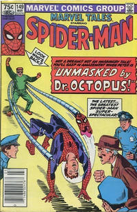 Cover Thumbnail for Marvel Tales (Marvel, 1966 series) #149 [Canadian]
