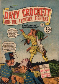 Cover Thumbnail for Davy Crockett and the Frontier Fighters (K. G. Murray, 1955 series) #1
