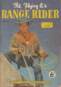 Cover Thumbnail for Flying A's Range Rider (World Distributors, 1954 series) #15
