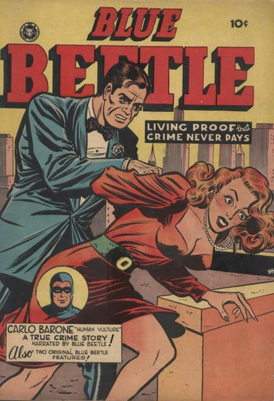 Cover for Blue Beetle (Superior Publishers Limited, 1950 series) #55