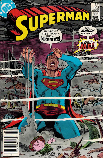 Cover for Superman (DC, 1939 series) #408 [Direct Sales]