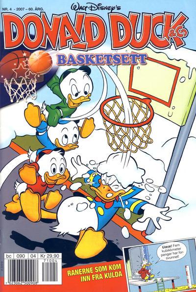 Cover for Donald Duck & Co (Hjemmet / Egmont, 1948 series) #4/2007