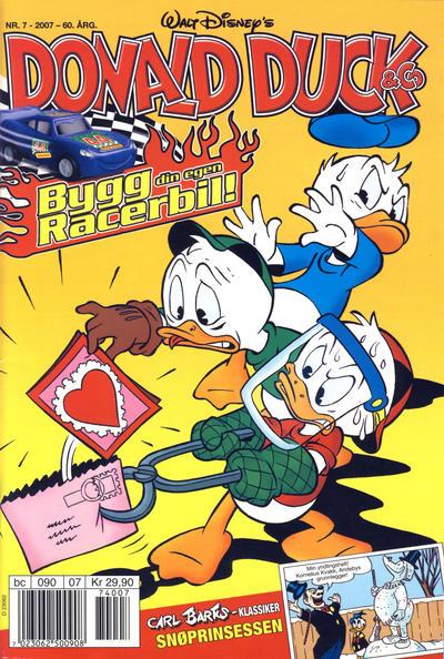 Cover for Donald Duck & Co (Hjemmet / Egmont, 1948 series) #7/2007