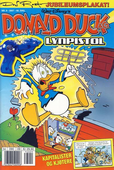 Cover for Donald Duck & Co (Hjemmet / Egmont, 1948 series) #9/2007