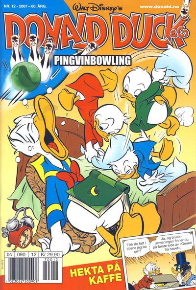 Cover for Donald Duck & Co (Hjemmet / Egmont, 1948 series) #12/2007
