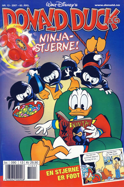 Cover for Donald Duck & Co (Hjemmet / Egmont, 1948 series) #13/2007
