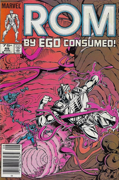 Cover for ROM (Marvel, 1979 series) #69 [Newsstand Edition]