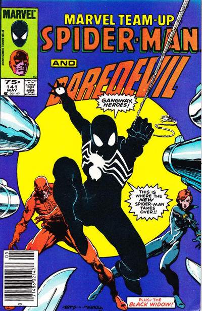 Cover for Marvel Team-Up (Marvel, 1972 series) #141 [Direct Edition]