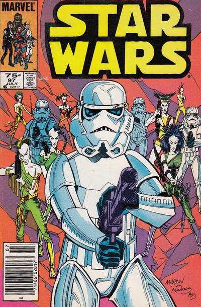 Cover for Star Wars (Marvel, 1977 series) #97 [Direct]