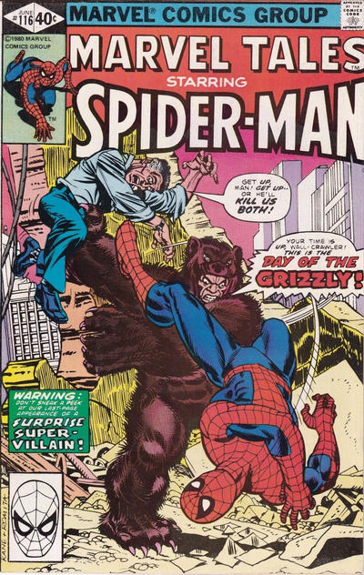 Cover for Marvel Tales (Marvel, 1966 series) #116 [Newsstand]