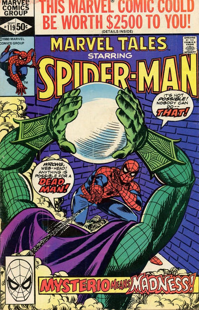 Cover for Marvel Tales (Marvel, 1966 series) #119 [Direct]