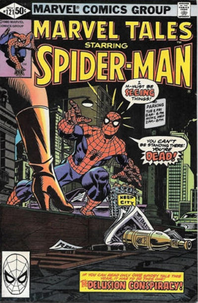 Cover for Marvel Tales (Marvel, 1966 series) #121 [Direct Edition]