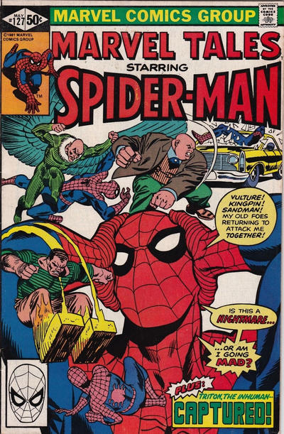 Cover for Marvel Tales (Marvel, 1966 series) #127 [Direct Edition]