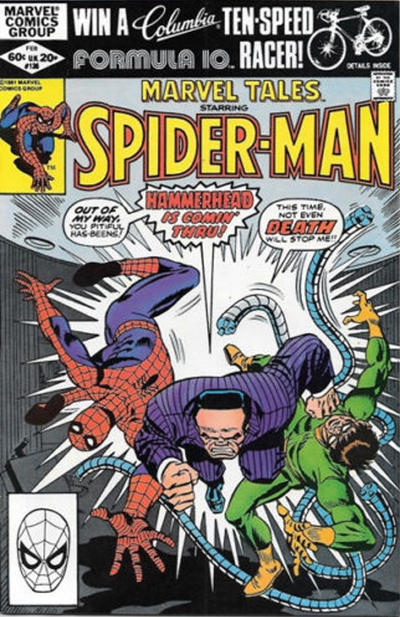 Cover for Marvel Tales (Marvel, 1966 series) #136 [Direct Edition]