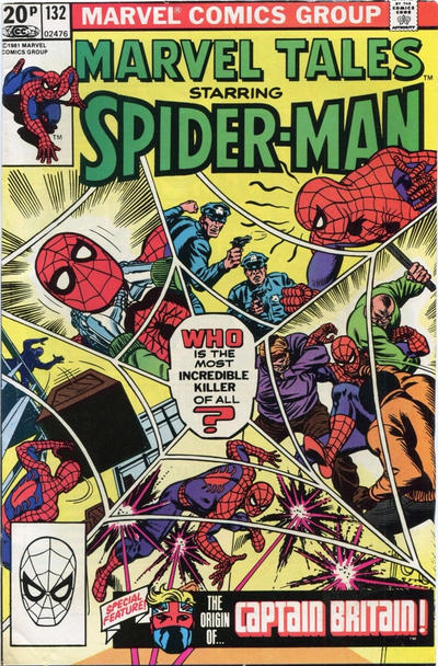 Cover for Marvel Tales (Marvel, 1966 series) #132 [Newsstand]