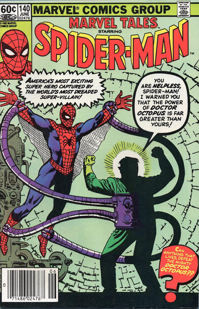 Cover for Marvel Tales (Marvel, 1966 series) #140 [Direct Edition]